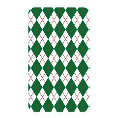 Plaid Triangle Line Wave Chevron Green Red White Beauty Argyle Memory Card Reader by Alisyart