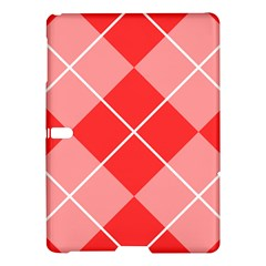 Plaid Triangle Line Wave Chevron Red White Beauty Argyle Samsung Galaxy Tab S (10 5 ) Hardshell Case