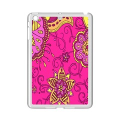 Pink Lemonade Flower Floral Rose Sunflower Leaf Star Pink Ipad Mini 2 Enamel Coated Cases