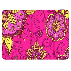 Pink Lemonade Flower Floral Rose Sunflower Leaf Star Pink Samsung Galaxy Tab 7  P1000 Flip Case