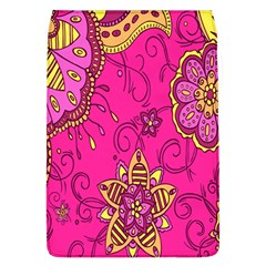 Pink Lemonade Flower Floral Rose Sunflower Leaf Star Pink Flap Covers (l)  by Alisyart