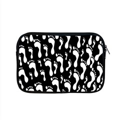Population Soles Feet Foot Black White Apple Macbook Pro 15  Zipper Case by Alisyart