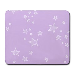 Star Lavender Purple Space Large Mousepads by Alisyart