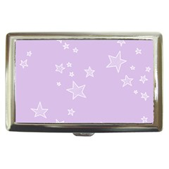 Star Lavender Purple Space Cigarette Money Cases by Alisyart