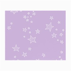 Star Lavender Purple Space Small Glasses Cloth (2 Side)