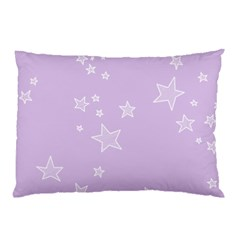 Star Lavender Purple Space Pillow Case by Alisyart