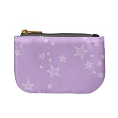 Star Lavender Purple Space Mini Coin Purses by Alisyart