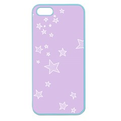 Star Lavender Purple Space Apple Seamless Iphone 5 Case (color) by Alisyart