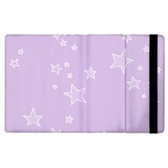 Star Lavender Purple Space Apple Ipad 3/4 Flip Case by Alisyart