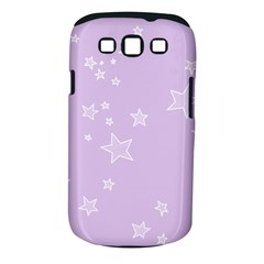 Star Lavender Purple Space Samsung Galaxy S Iii Classic Hardshell Case (pc+silicone) by Alisyart