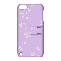 Star Lavender Purple Space Apple Ipod Touch 5 Hardshell Case With Stand