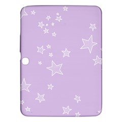 Star Lavender Purple Space Samsung Galaxy Tab 3 (10 1 ) P5200 Hardshell Case  by Alisyart