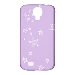 Star Lavender Purple Space Samsung Galaxy S4 Classic Hardshell Case (pc+silicone) by Alisyart