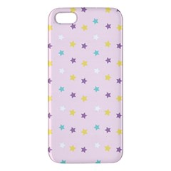 Star Rainbow Coror Purple Gold White Blue Iphone 5s/ Se Premium Hardshell Case by Alisyart