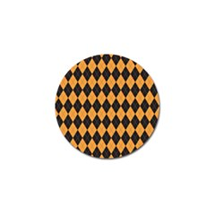 Plaid Triangle Line Wave Chevron Yellow Red Blue Orange Black Beauty Argyle Golf Ball Marker