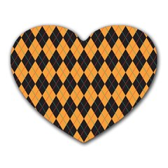 Plaid Triangle Line Wave Chevron Yellow Red Blue Orange Black Beauty Argyle Heart Mousepads