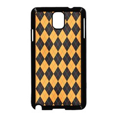 Plaid Triangle Line Wave Chevron Yellow Red Blue Orange Black Beauty Argyle Samsung Galaxy Note 3 Neo Hardshell Case (black)