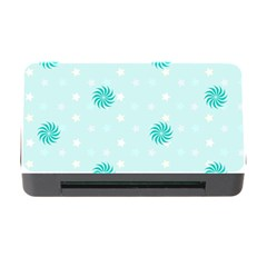 Star White Fan Blue Memory Card Reader With Cf by Alisyart