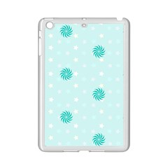 Star White Fan Blue Ipad Mini 2 Enamel Coated Cases
