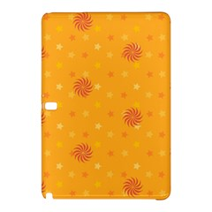 Star White Fan Orange Gold Samsung Galaxy Tab Pro 10 1 Hardshell Case by Alisyart