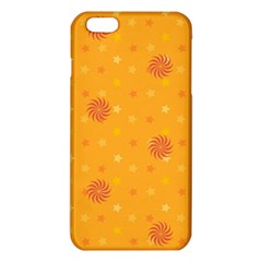 Star White Fan Orange Gold Iphone 6 Plus/6s Plus Tpu Case by Alisyart