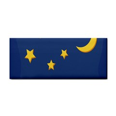 Starry Star Night Moon Blue Sky Light Yellow Cosmetic Storage Cases