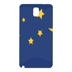 Starry Star Night Moon Blue Sky Light Yellow Samsung Galaxy Note 3 N9005 Hardshell Back Case