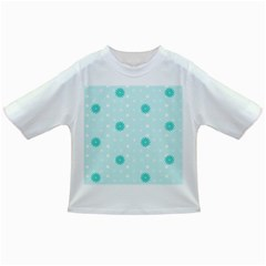 Star White Fan Blue Infant/toddler T Shirts