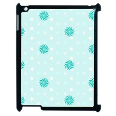 Star White Fan Blue Apple Ipad 2 Case (black)