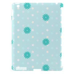 Star White Fan Blue Apple Ipad 3/4 Hardshell Case (compatible With Smart Cover)
