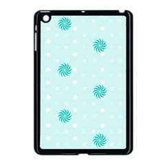 Star White Fan Blue Apple Ipad Mini Case (black)