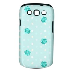 Star White Fan Blue Samsung Galaxy S Iii Classic Hardshell Case (pc+silicone)