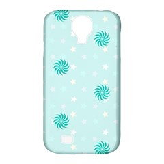 Star White Fan Blue Samsung Galaxy S4 Classic Hardshell Case (pc+silicone) by Alisyart