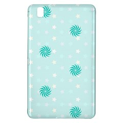 Star White Fan Blue Samsung Galaxy Tab Pro 8 4 Hardshell Case
