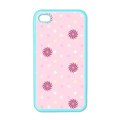 Star White Fan Pink Apple Iphone 4 Case (color)