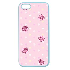 Star White Fan Pink Apple Seamless Iphone 5 Case (color) by Alisyart