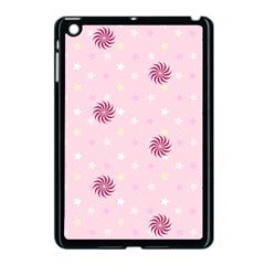 Star White Fan Pink Apple Ipad Mini Case (black)
