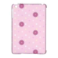 Star White Fan Pink Apple Ipad Mini Hardshell Case (compatible With Smart Cover)