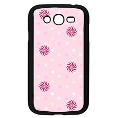 Star White Fan Pink Samsung Galaxy Grand Duos I9082 Case (black)