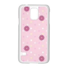 Star White Fan Pink Samsung Galaxy S5 Case (white)