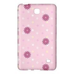 Star White Fan Pink Samsung Galaxy Tab 4 (8 ) Hardshell Case  by Alisyart