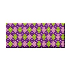Plaid Triangle Line Wave Chevron Green Purple Grey Beauty Argyle Cosmetic Storage Cases