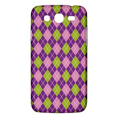 Plaid Triangle Line Wave Chevron Green Purple Grey Beauty Argyle Samsung Galaxy Mega 5 8 I9152 Hardshell Case