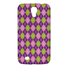 Plaid Triangle Line Wave Chevron Green Purple Grey Beauty Argyle Samsung Galaxy Mega 6 3  I9200 Hardshell Case