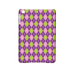 Plaid Triangle Line Wave Chevron Green Purple Grey Beauty Argyle Ipad Mini 2 Hardshell Cases by Alisyart