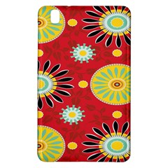 Sunflower Floral Red Yellow Black Circle Samsung Galaxy Tab Pro 8 4 Hardshell Case