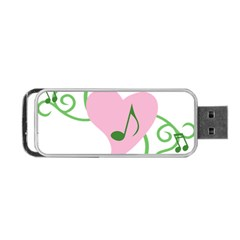 Sweetie Belle s Love Heart Music Note Leaf Green Pink Portable Usb Flash (two Sides)