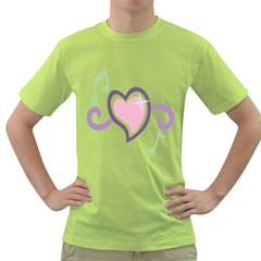 Sweetie Belle s Love Heart Star Music Note Green Pink Purple Green T Shirt