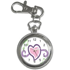 Sweetie Belle s Love Heart Star Music Note Green Pink Purple Key Chain Watches