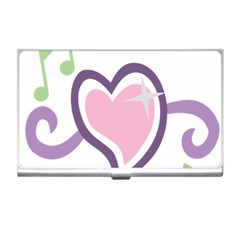 Sweetie Belle s Love Heart Star Music Note Green Pink Purple Business Card Holders